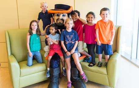 children's hospital patients with Cav Man
